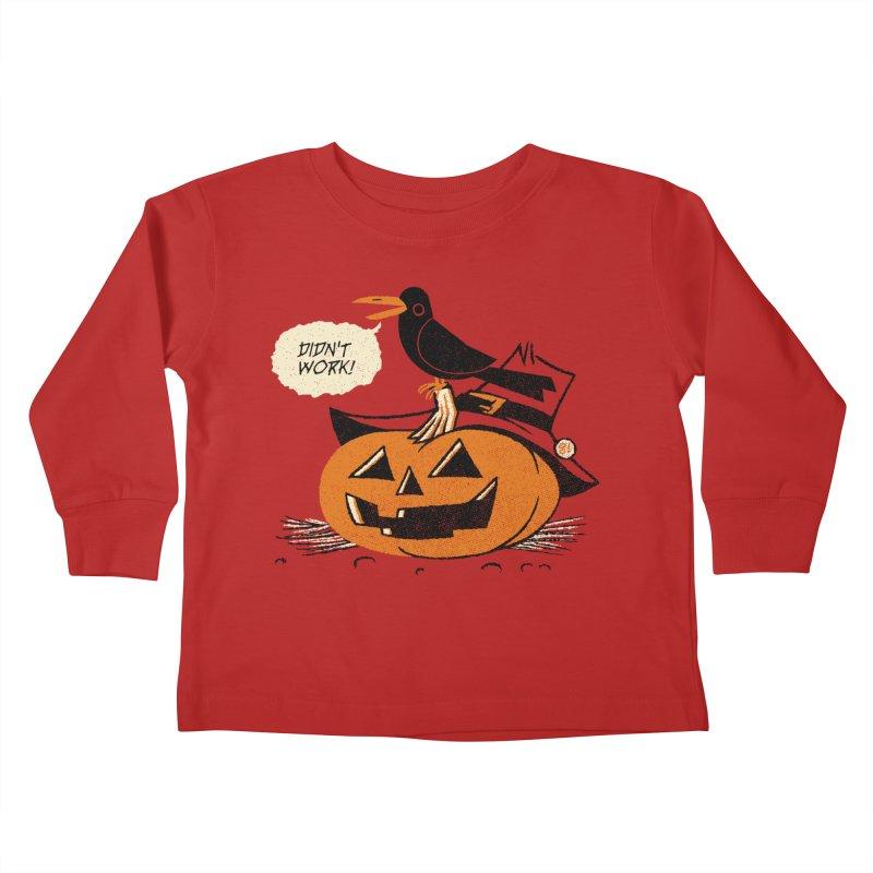 Didn't Work Kids Toddler Longsleeve T-Shirt by Gimetzco's Artist Shop