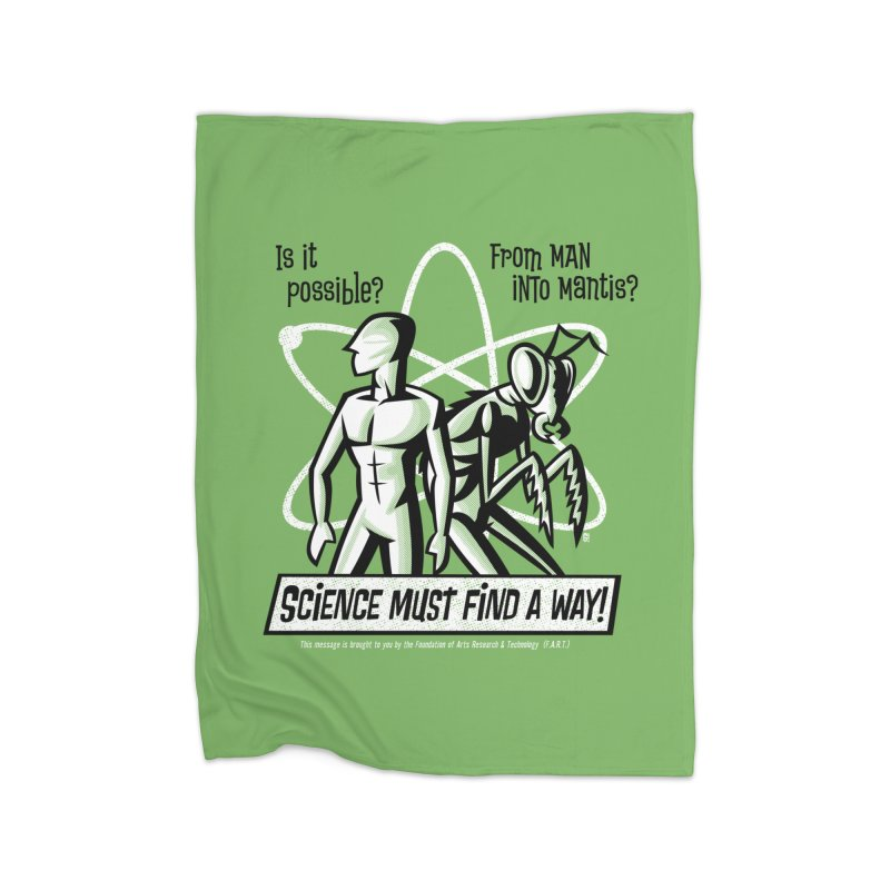 Man into Mantis? Home Blanket by Gimetzco's Damaged Goods