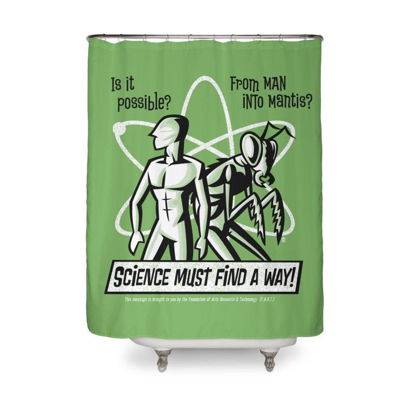Man into Mantis? Home Shower Curtain by Gimetzco's Artist Shop
