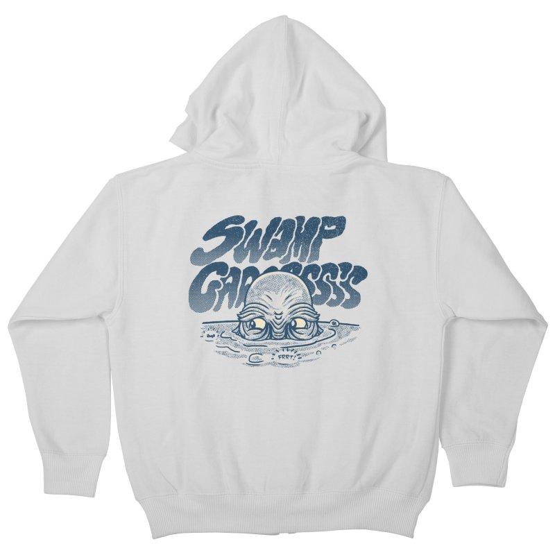 Swamp Gaaassssss Kids Zip-Up Hoody by Gimetzco's Artist Shop