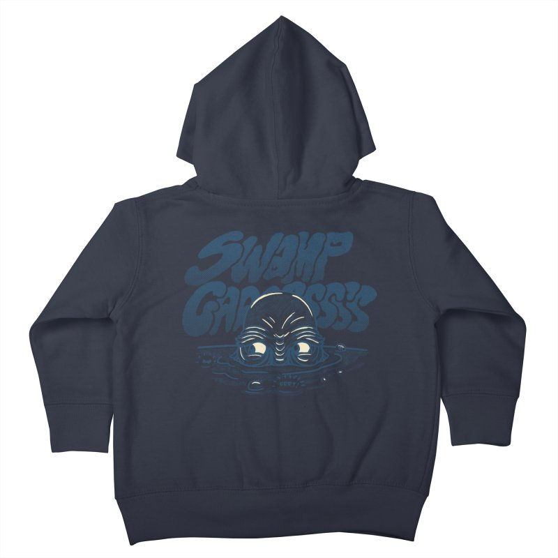 Swamp Gaaassssss Kids Toddler Zip-Up Hoody by Gimetzco's Artist Shop