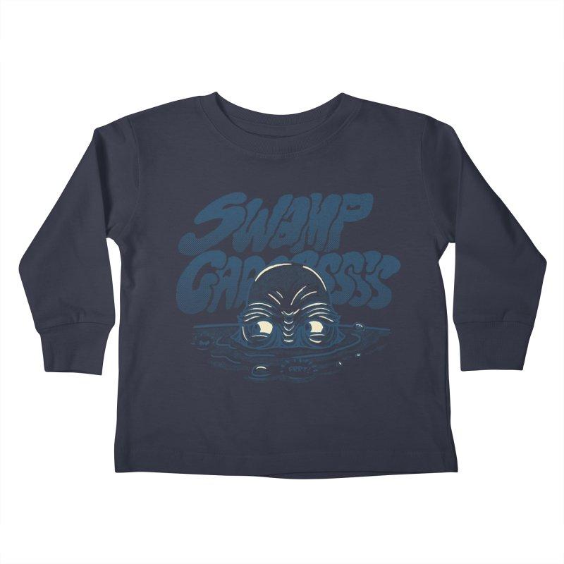Swamp Gaaassssss Kids Toddler Longsleeve T-Shirt by Gimetzco's Artist Shop