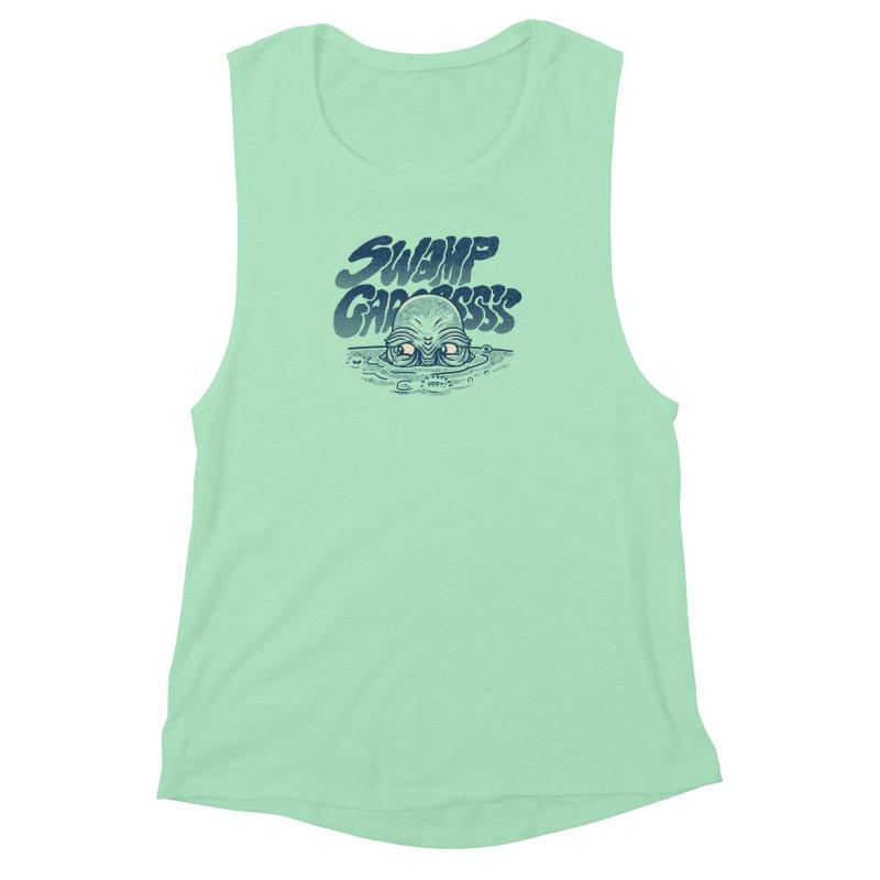 Swamp Gaaassssss Women's Muscle Tank by Gimetzco's Artist Shop