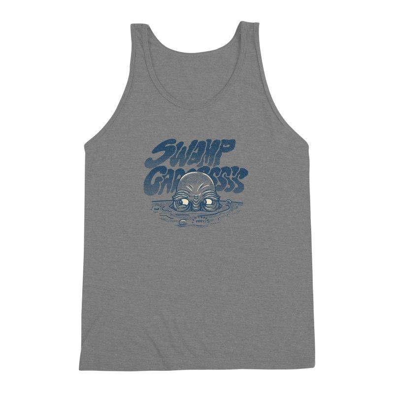 Swamp Gaaassssss Men's Triblend Tank by Gimetzco's Artist Shop