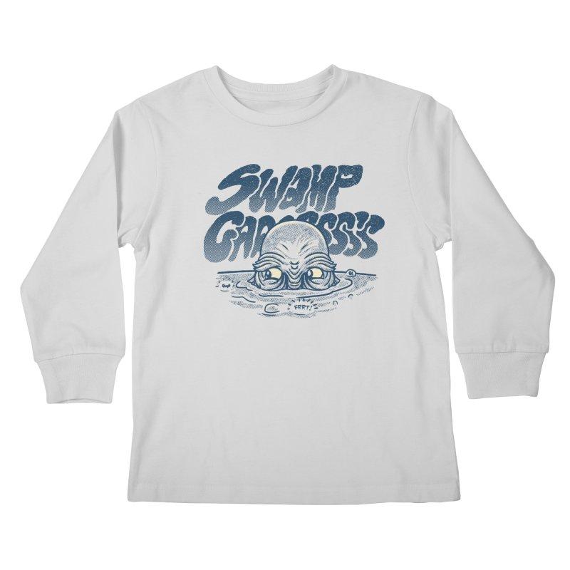 Swamp Gaaassssss Kids Longsleeve T-Shirt by Gimetzco's Artist Shop