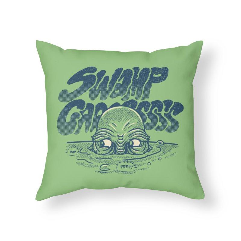 Swamp Gaaassssss Home Throw Pillow by Gimetzco's Artist Shop