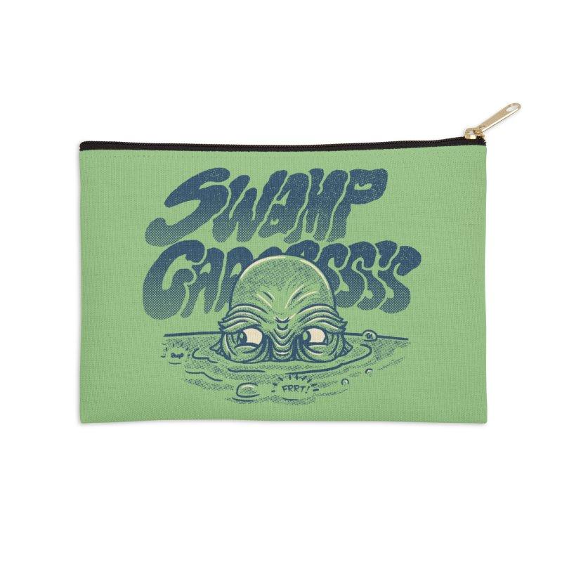 Swamp Gaaassssss Accessories Zip Pouch by Gimetzco's Artist Shop