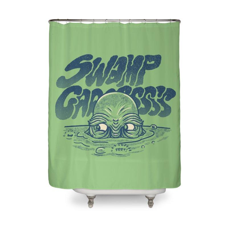 Swamp Gaaassssss Home Shower Curtain by Gimetzco's Artist Shop