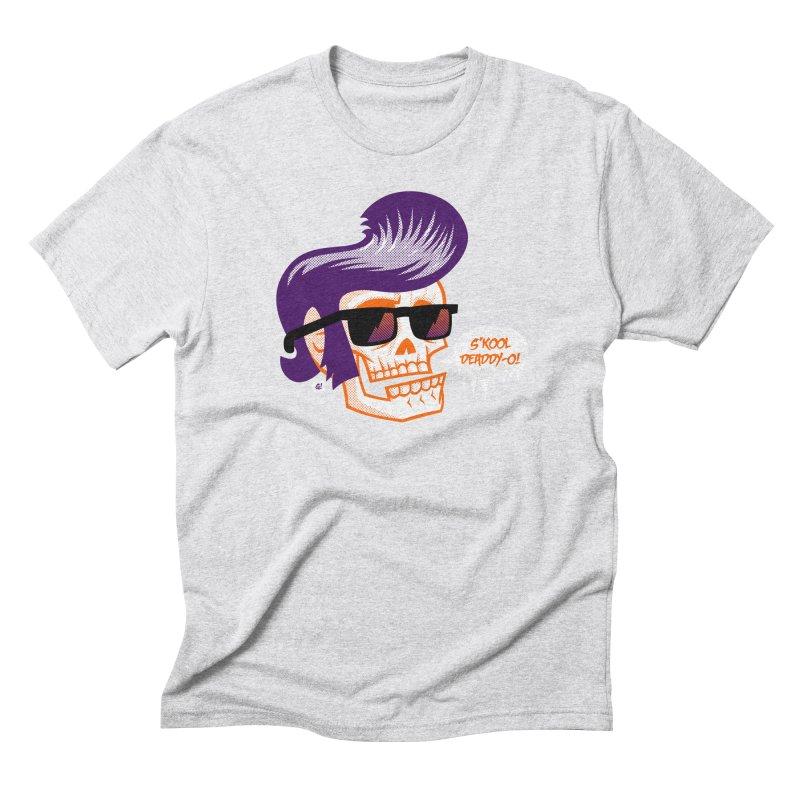 S'kool Deaddy-o! Men's Triblend T-shirt by Gimetzco's Artist Shop