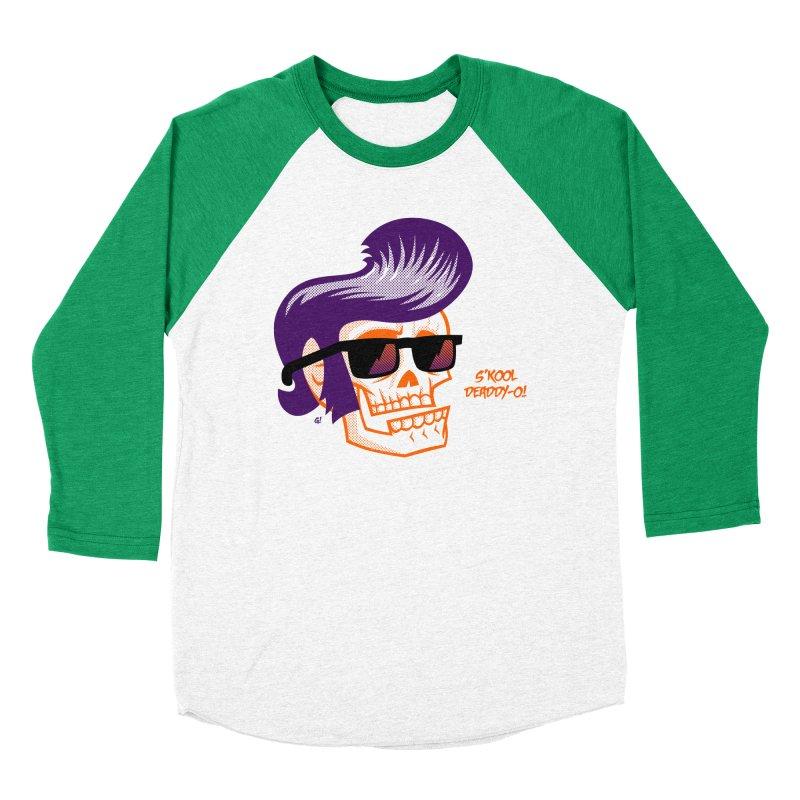 S'kool Deaddy-o! Women's Baseball Triblend T-Shirt by Gimetzco's Artist Shop