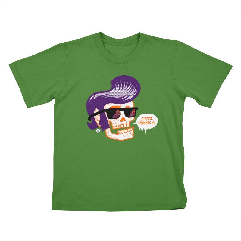 S'kool Deaddy-o! Kids T-shirt by Gimetzco's Artist Shop