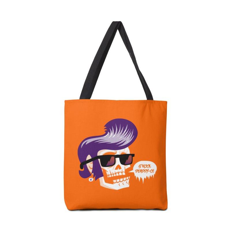 S'kool Deaddy-o! Accessories Bag by Gimetzco's Artist Shop