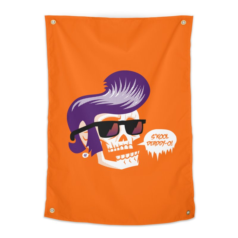 S'kool Deaddy-o! Home Tapestry by Gimetzco's Artist Shop