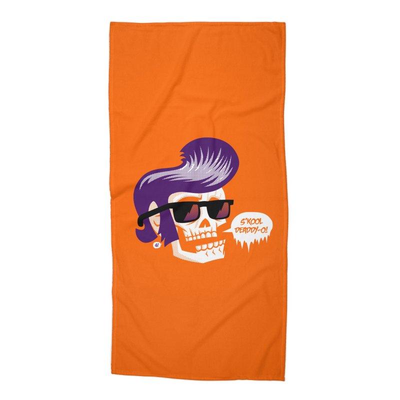 S'kool Deaddy-o! Accessories Beach Towel by Gimetzco's Artist Shop