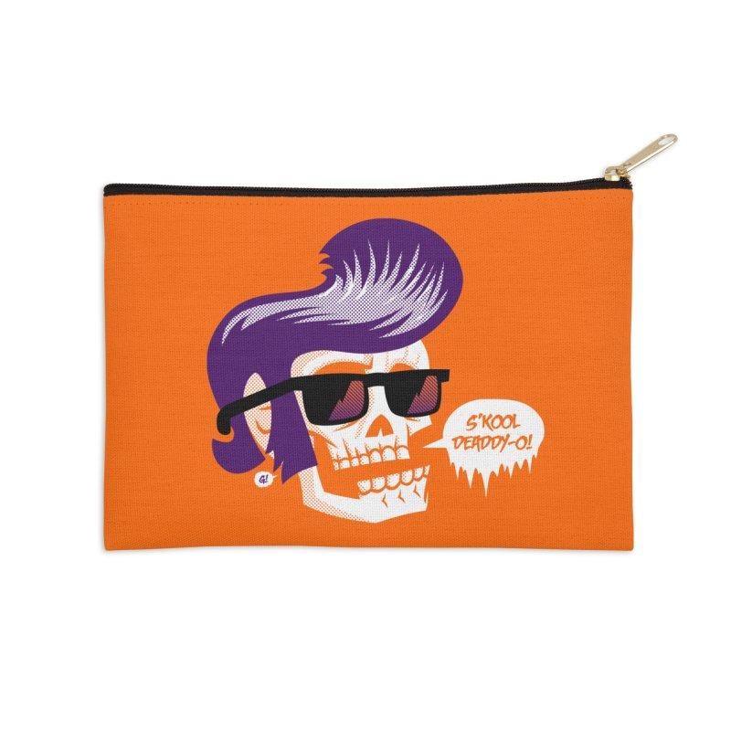 S'kool Deaddy-o! Accessories Zip Pouch by Gimetzco's Artist Shop