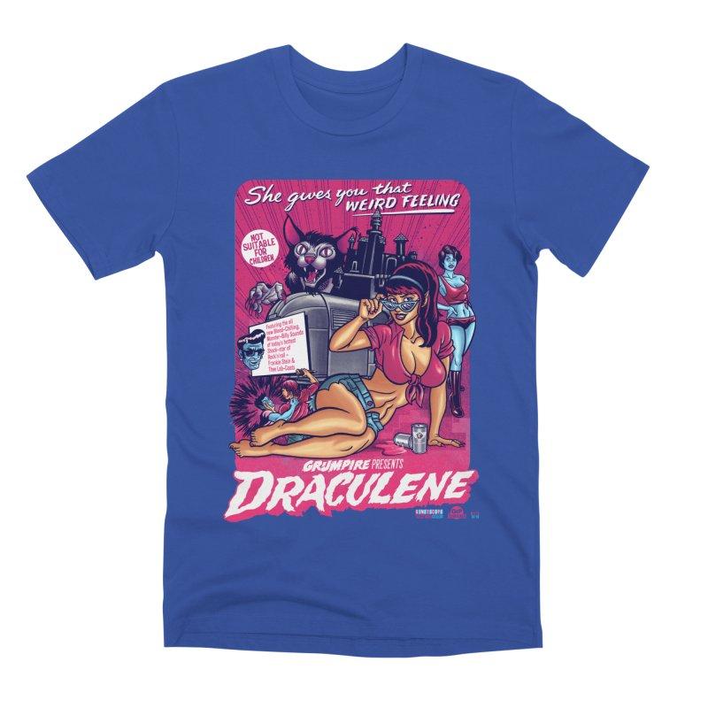 Draculene Men's Premium T-Shirt by Gimetzco's Damaged Goods