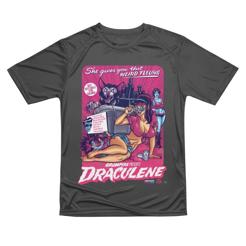 Draculene Men's Performance T-Shirt by Gimetzco's Damaged Goods