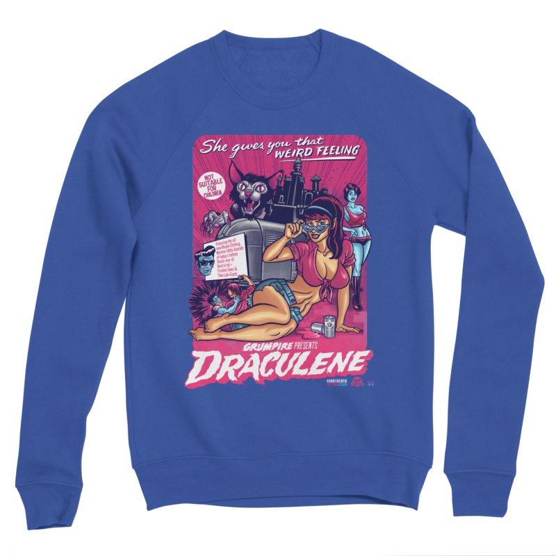 Draculene Women's Sponge Fleece Sweatshirt by Gimetzco's Damaged Goods