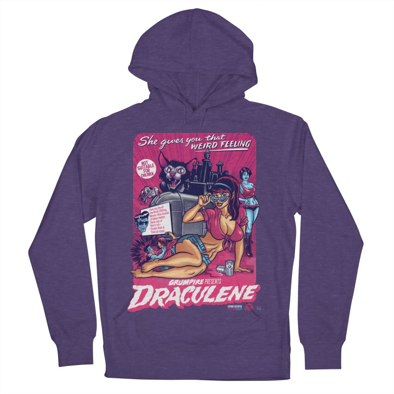 Draculene Women's French Terry Pullover Hoody by Gimetzco's Damaged Goods