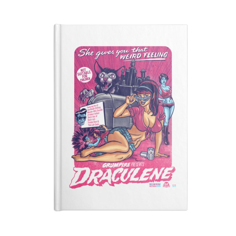 Draculene Accessories Lined Journal Notebook by Gimetzco's Damaged Goods