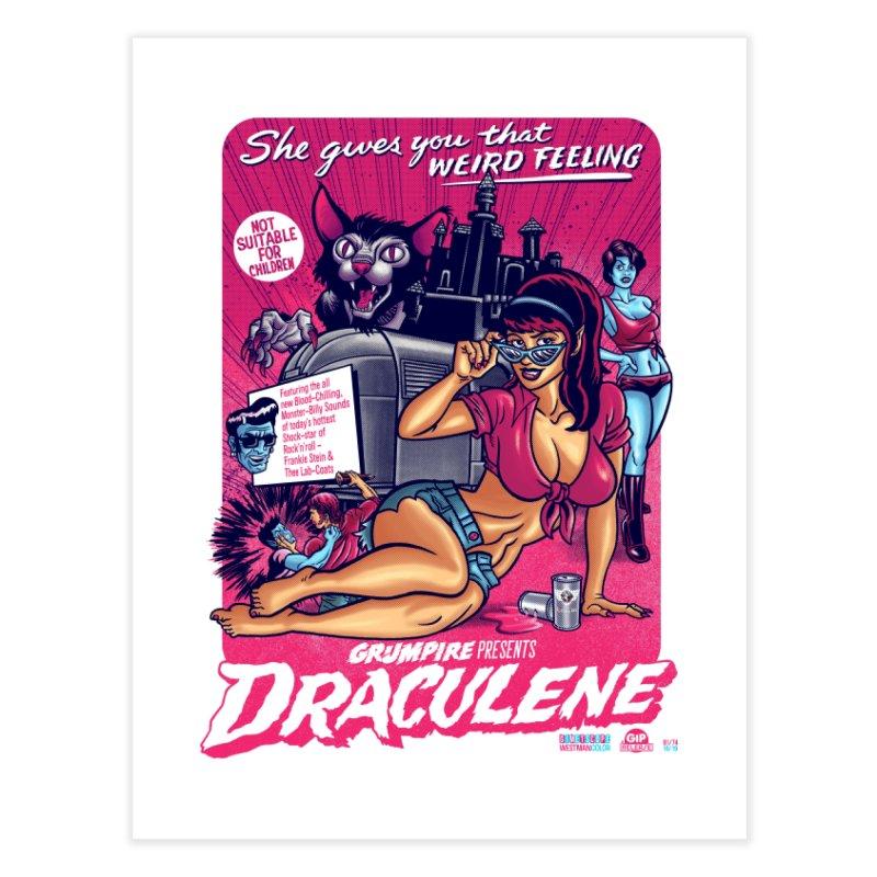 Draculene Home Fine Art Print by Gimetzco's Damaged Goods