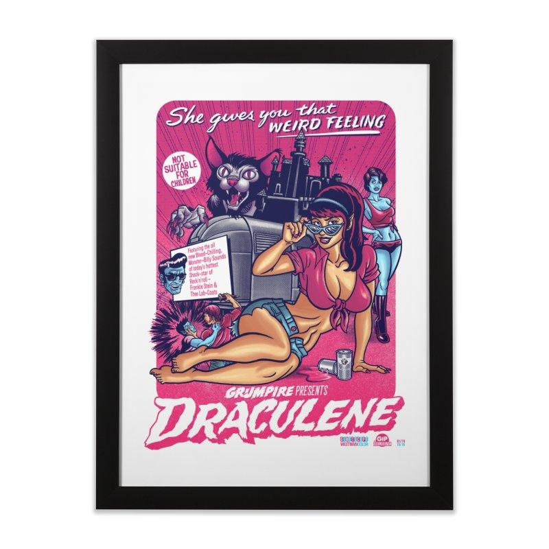 Draculene Home Framed Fine Art Print by Gimetzco's Damaged Goods