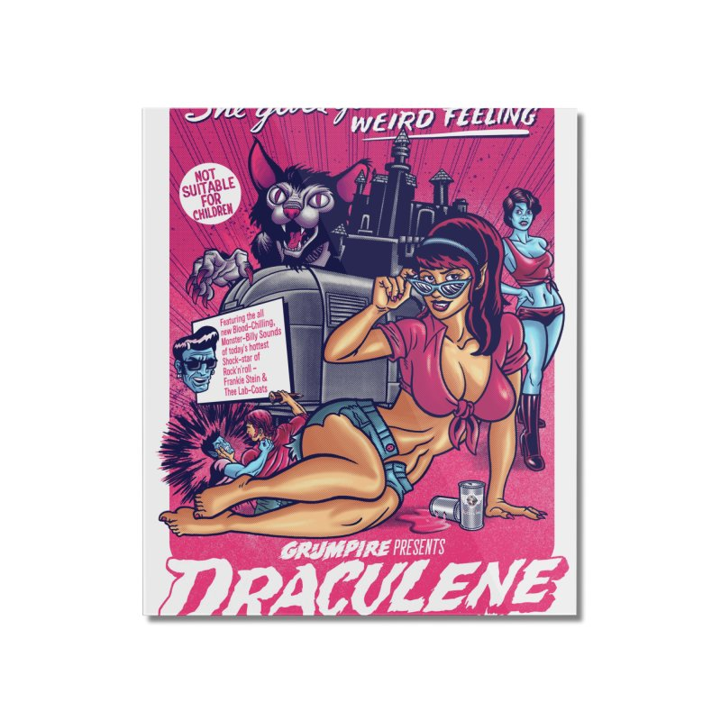 Draculene Home Mounted Acrylic Print by Gimetzco's Damaged Goods