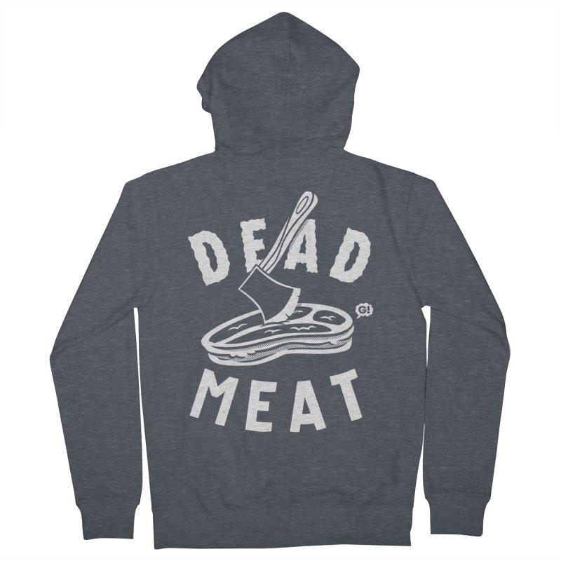 DEAD MEAT Men's Zip-Up Hoody by Gimetzco's Artist Shop