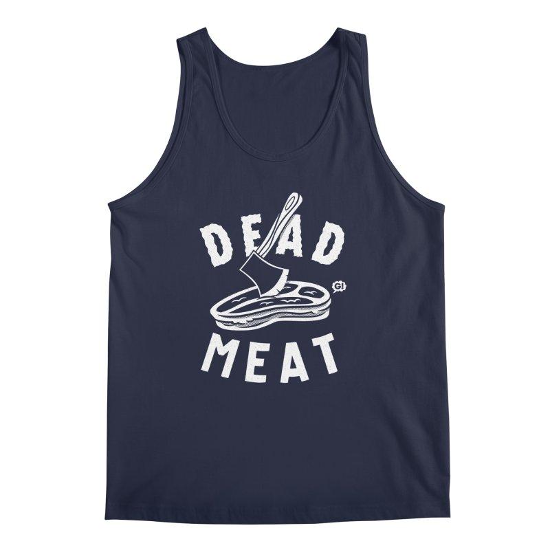 DEAD MEAT Men's Tank by Gimetzco's Artist Shop