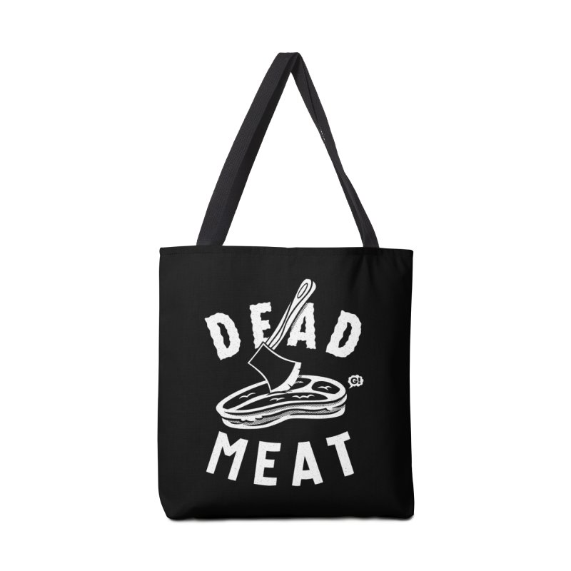 DEAD MEAT Accessories Bag by Gimetzco's Damaged Goods
