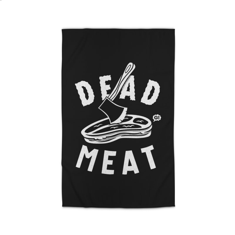 DEAD MEAT Home Rug by Gimetzco's Artist Shop
