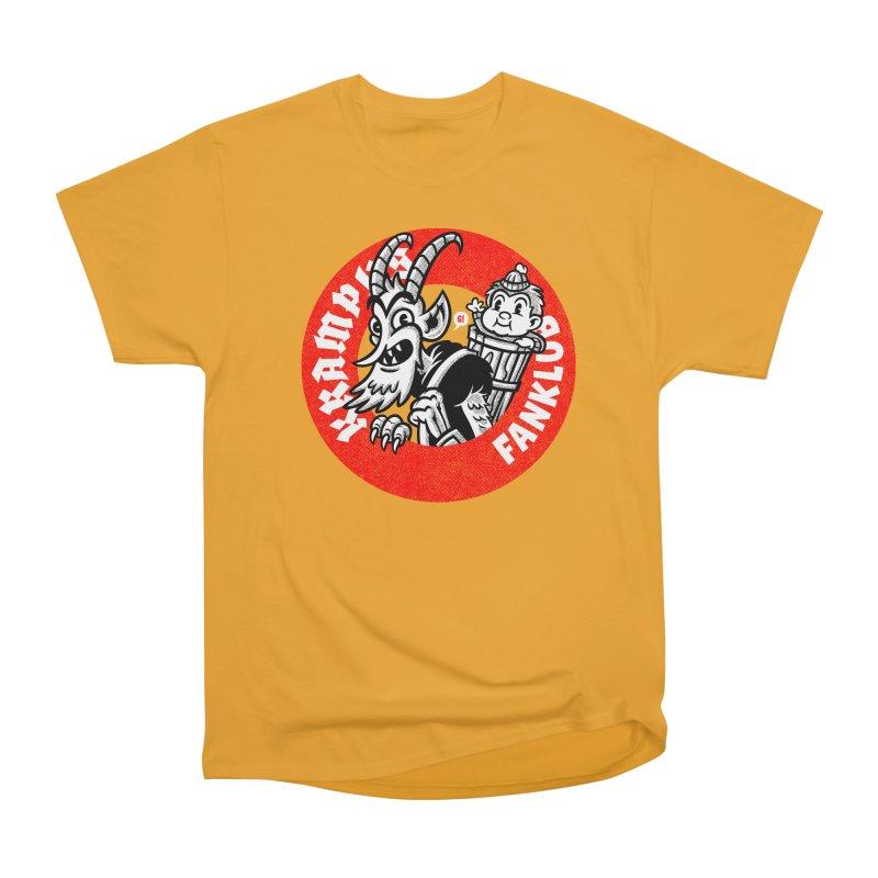 KRAMPUS FANKLUB Men's Heavyweight T-Shirt by Gimetzco's Damaged Goods