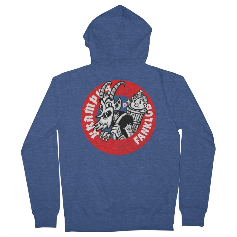 KRAMPUS FANKLUB Men's Zip-Up Hoody by Gimetzco's Artist Shop