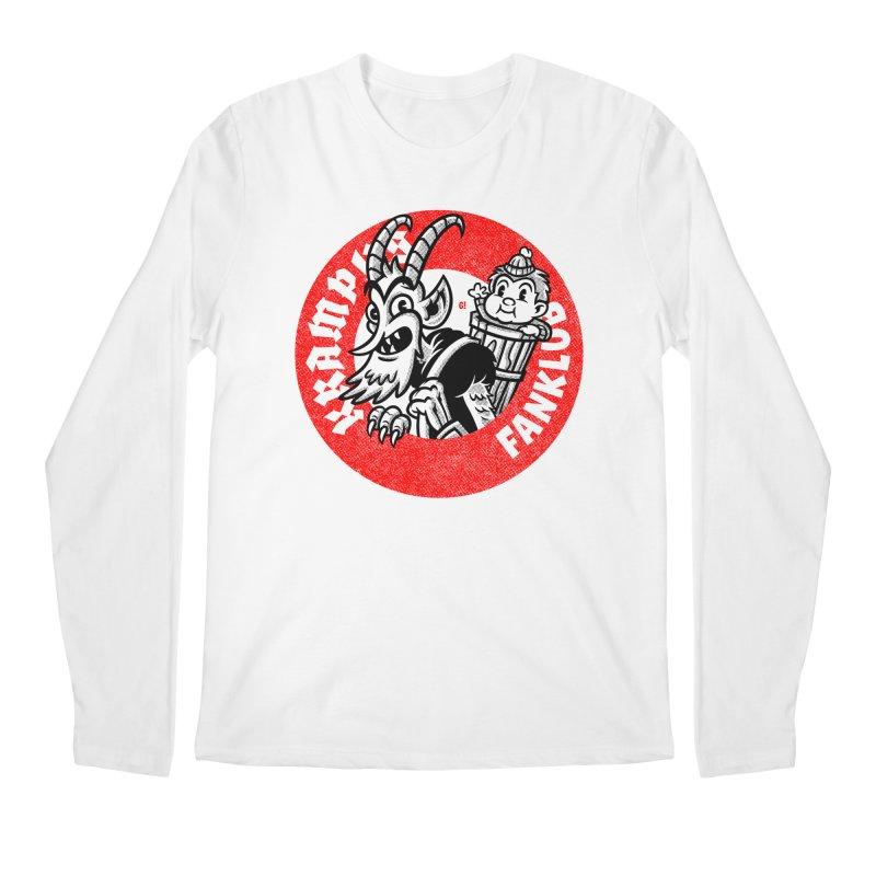 KRAMPUS FANKLUB Men's Longsleeve T-Shirt by Gimetzco's Artist Shop