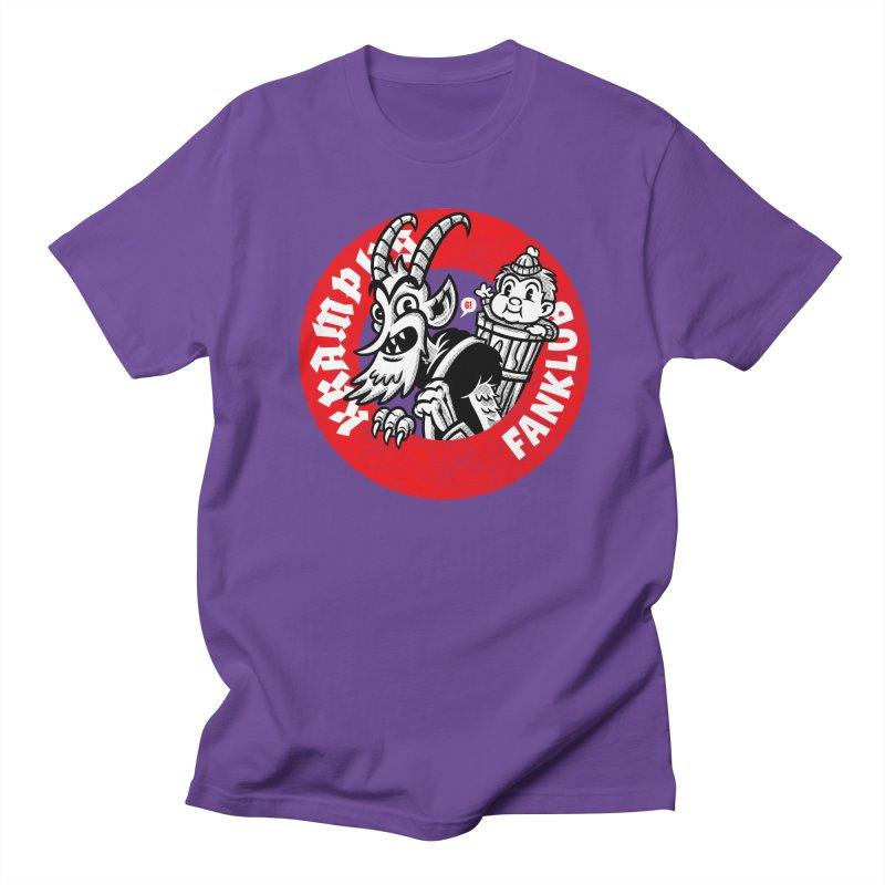 KRAMPUS FANKLUB Men's T-shirt by Gimetzco's Artist Shop