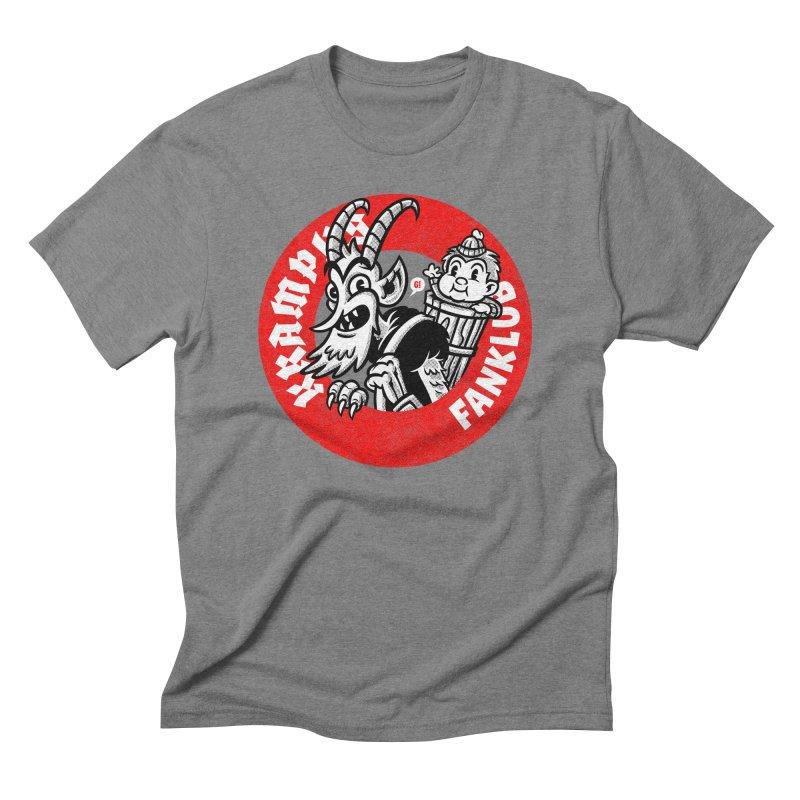 KRAMPUS FANKLUB Men's Triblend T-shirt by Gimetzco's Artist Shop