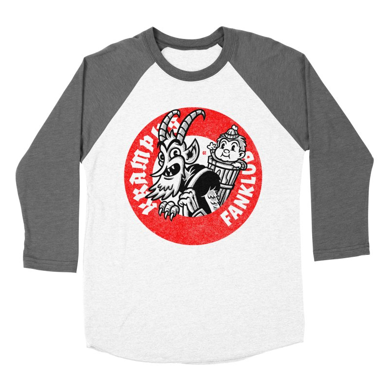 KRAMPUS FANKLUB Men's Baseball Triblend T-Shirt by Gimetzco's Artist Shop