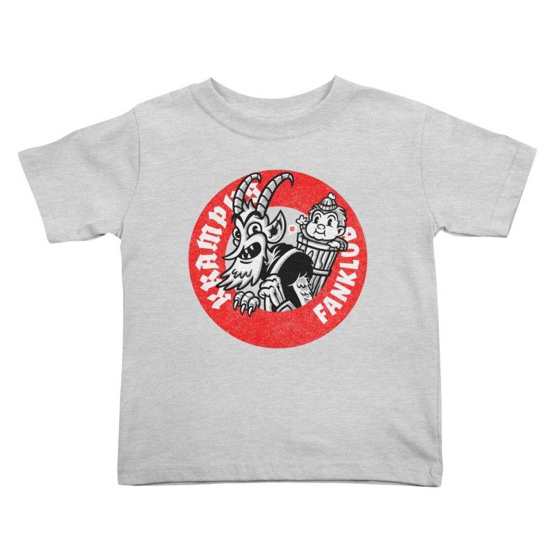 KRAMPUS FANKLUB Kids Toddler T-Shirt by Gimetzco's Damaged Goods