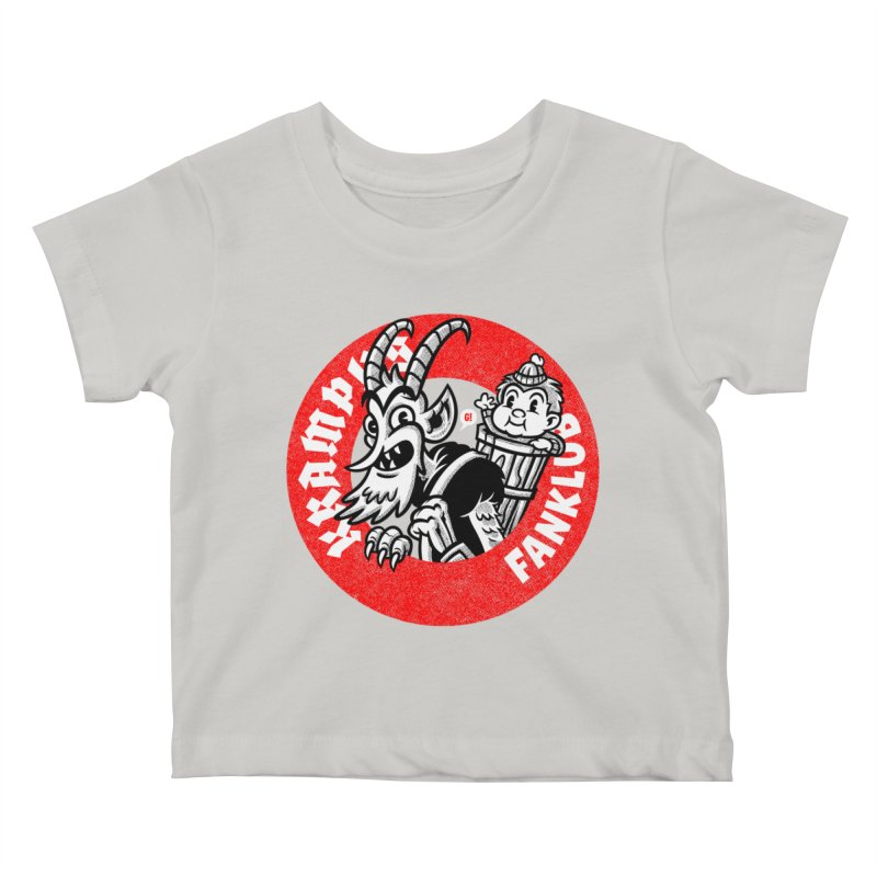 KRAMPUS FANKLUB Kids Baby T-Shirt by Gimetzco's Artist Shop