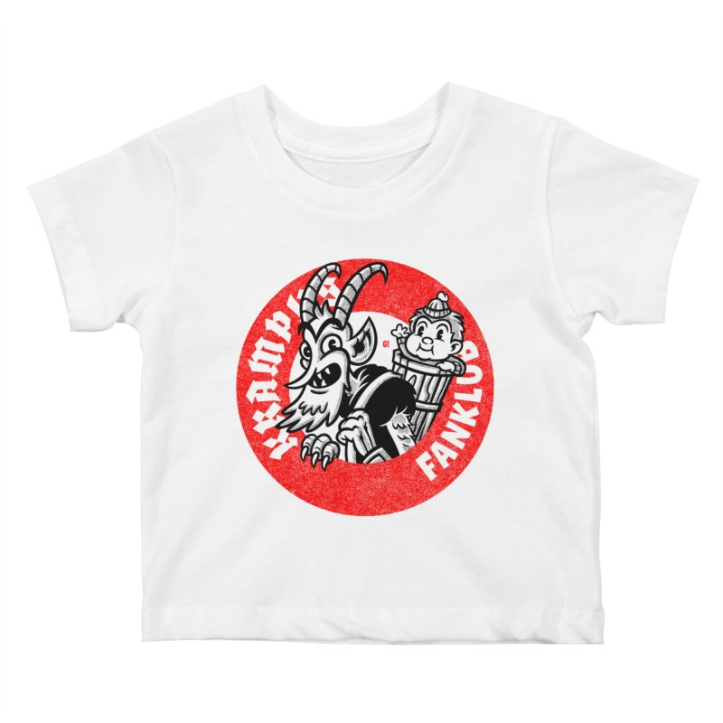 KRAMPUS FANKLUB Kids Baby T-Shirt by Gimetzco's Damaged Goods