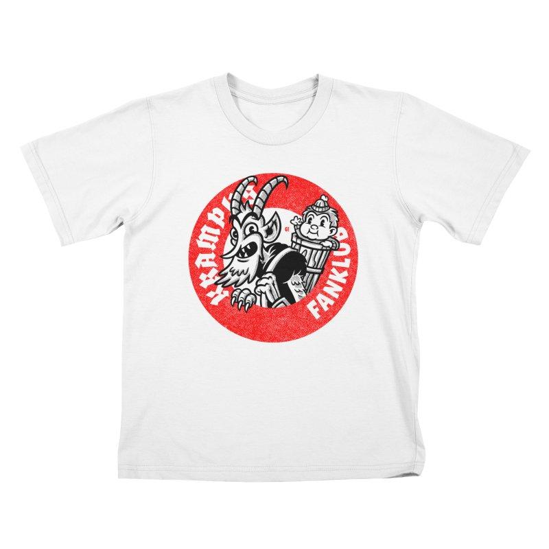 KRAMPUS FANKLUB Kids T-Shirt by Gimetzco's Damaged Goods