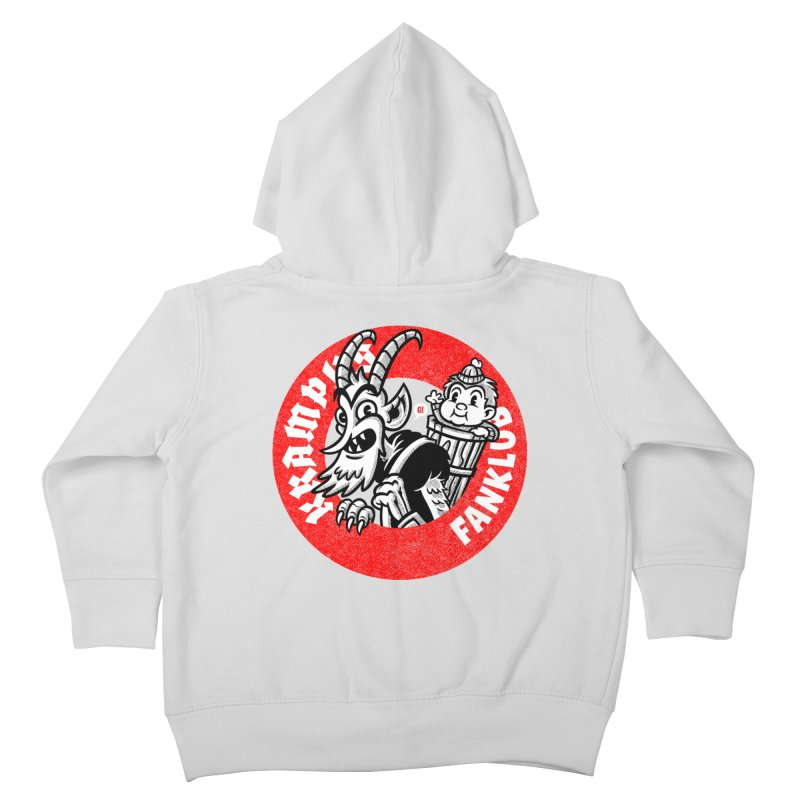 KRAMPUS FANKLUB Kids Toddler Zip-Up Hoody by Gimetzco's Damaged Goods