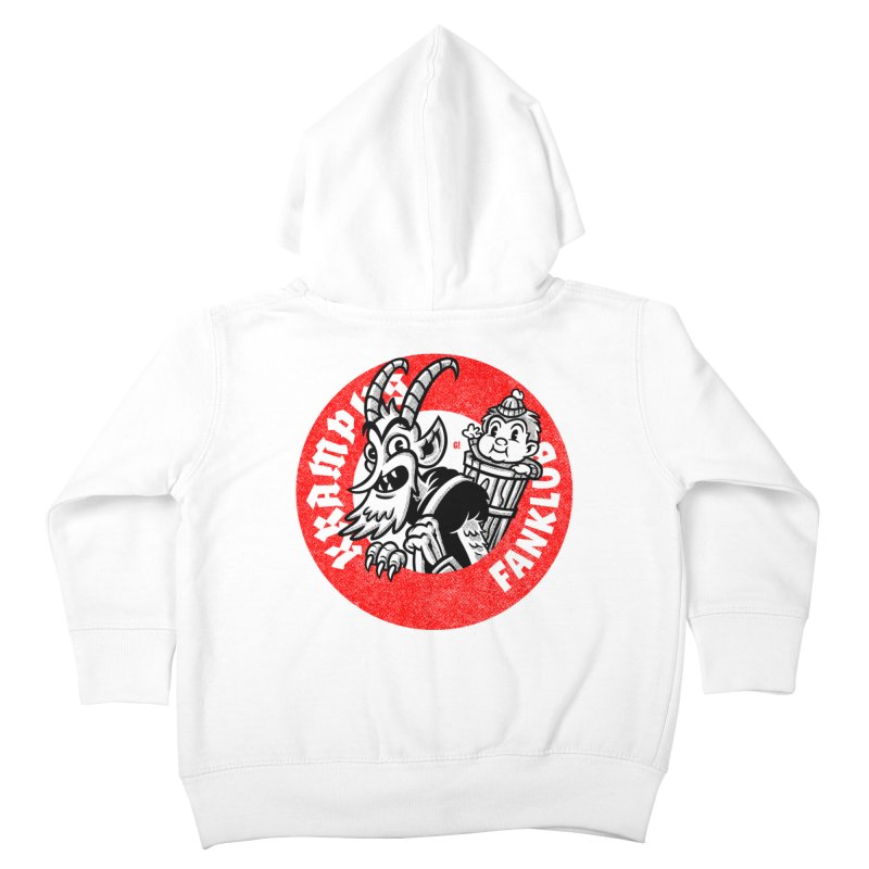 KRAMPUS FANKLUB Kids Toddler Zip-Up Hoody by Gimetzco's Artist Shop