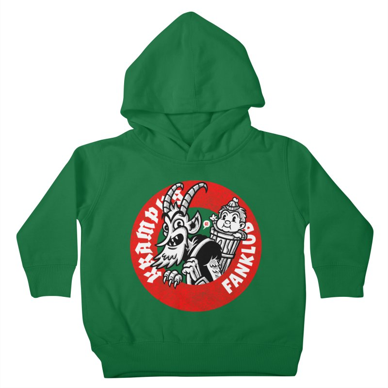 KRAMPUS FANKLUB Kids Toddler Pullover Hoody by Gimetzco's Artist Shop