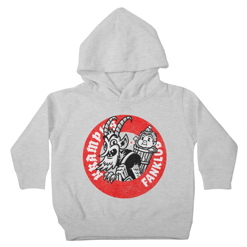 KRAMPUS FANKLUB Kids Toddler Pullover Hoody by Gimetzco's Damaged Goods