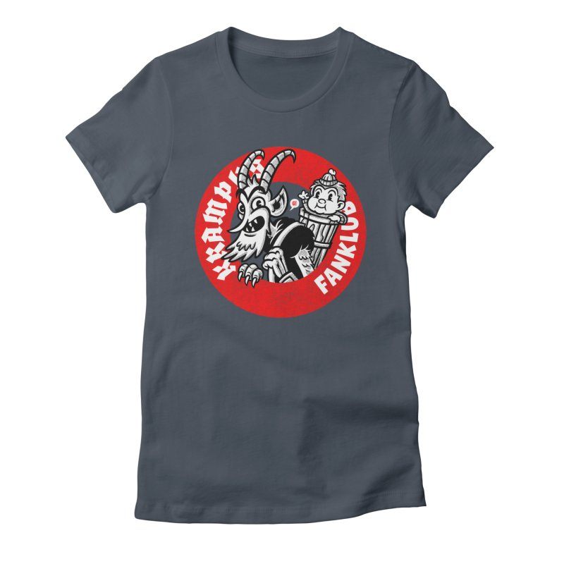 KRAMPUS FANKLUB Women's T-Shirt by Gimetzco's Damaged Goods