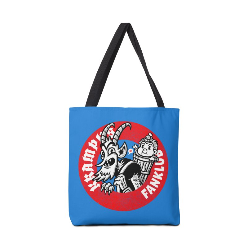 KRAMPUS FANKLUB Accessories Bag by Gimetzco's Damaged Goods