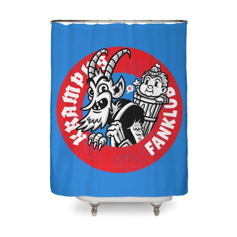 KRAMPUS FANKLUB Home Shower Curtain by Gimetzco's Artist Shop