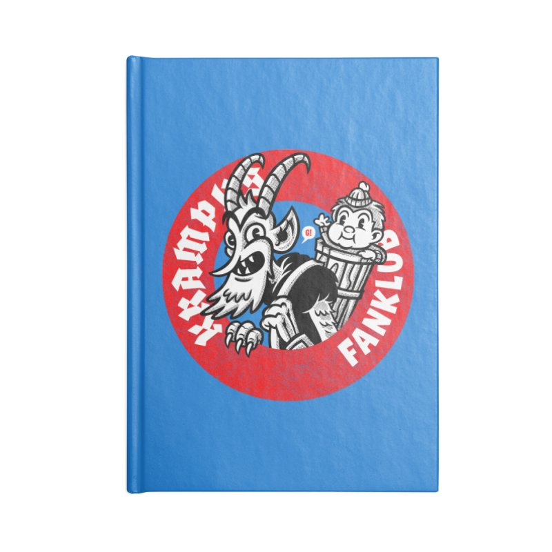 KRAMPUS FANKLUB Accessories Notebook by Gimetzco's Artist Shop