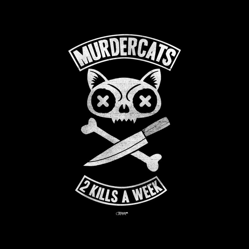 murdercats Accessories Neck Gaiter by Gimetzco's Damaged Goods